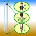 Telescopic Tree Stake with FREE Ties